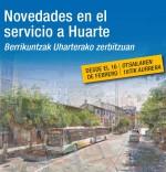 NOVEDADES EN EL SERVICIO A HUARTE (L4-N5)